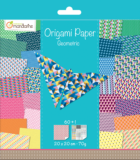 Kit Origami Paper Géometric - Avenue Mandarine