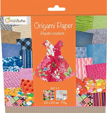 Kit Origami Paper Haute-Couture - Avenue Mandarine