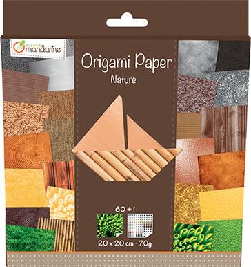 Kit Origami Paper Nature - Avenue Mandarine