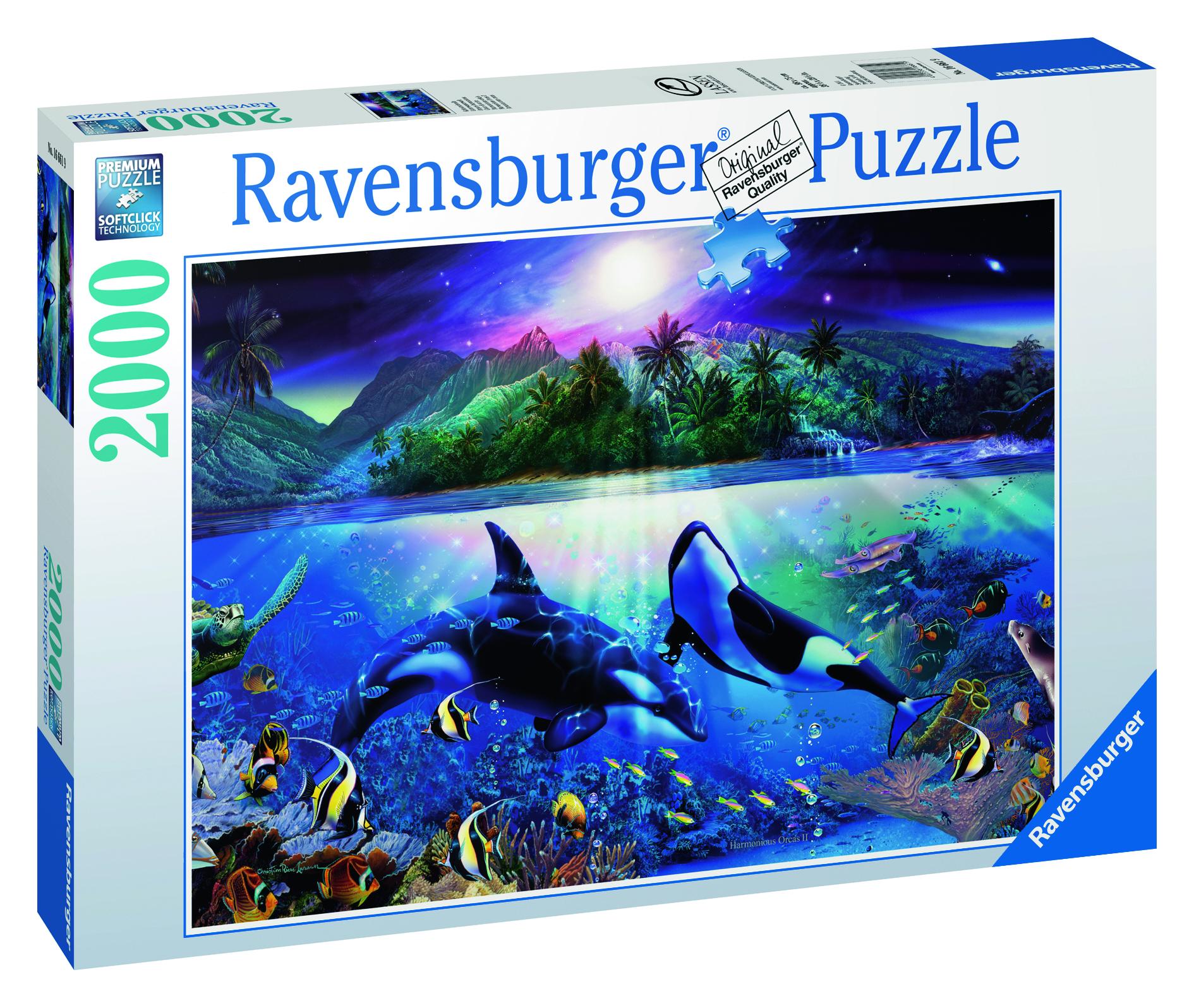 Puzzle : Orques harmonieux - 2000 pièces
