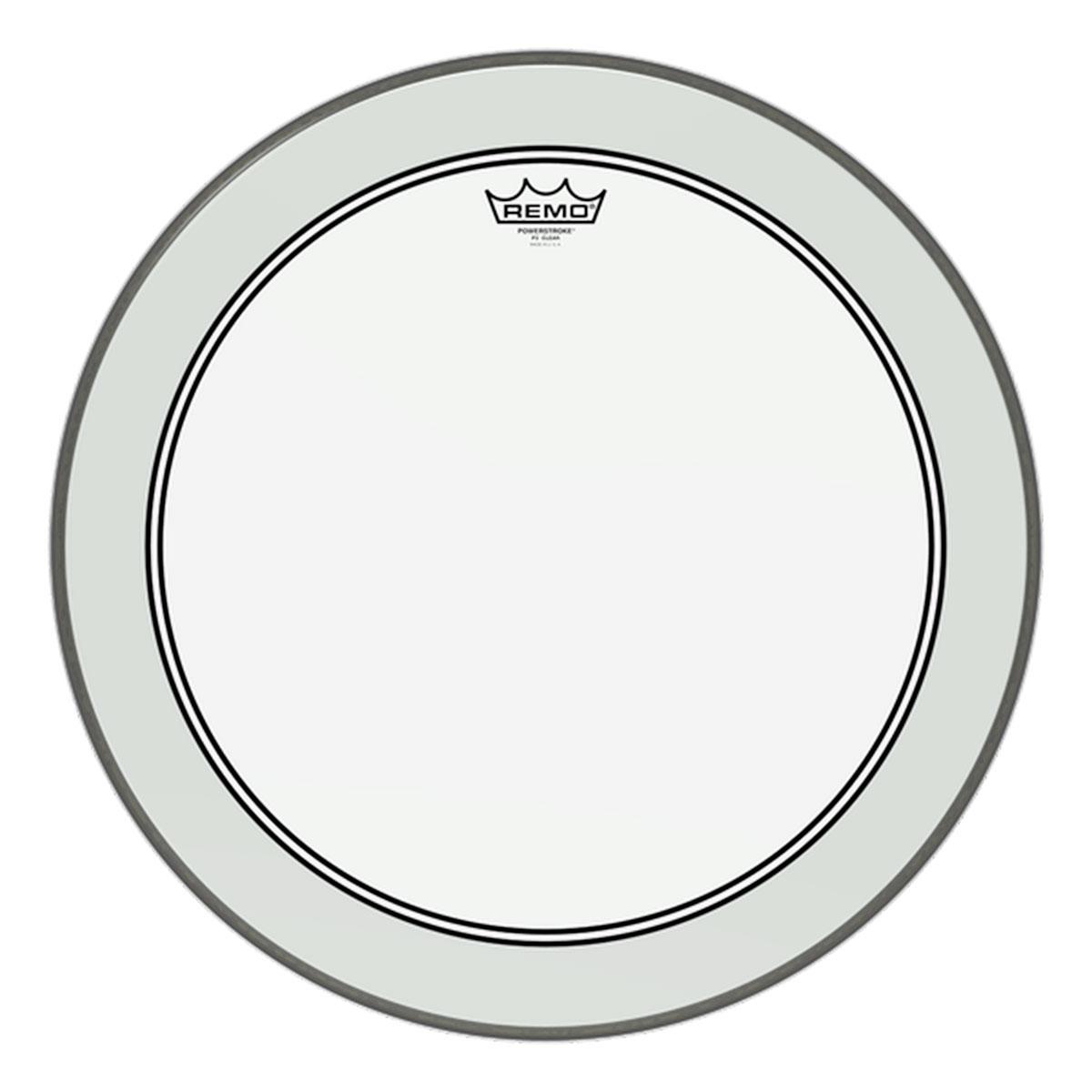 Remo - Peau Grosse caisse 20 - Powerstroke P3 transparent
