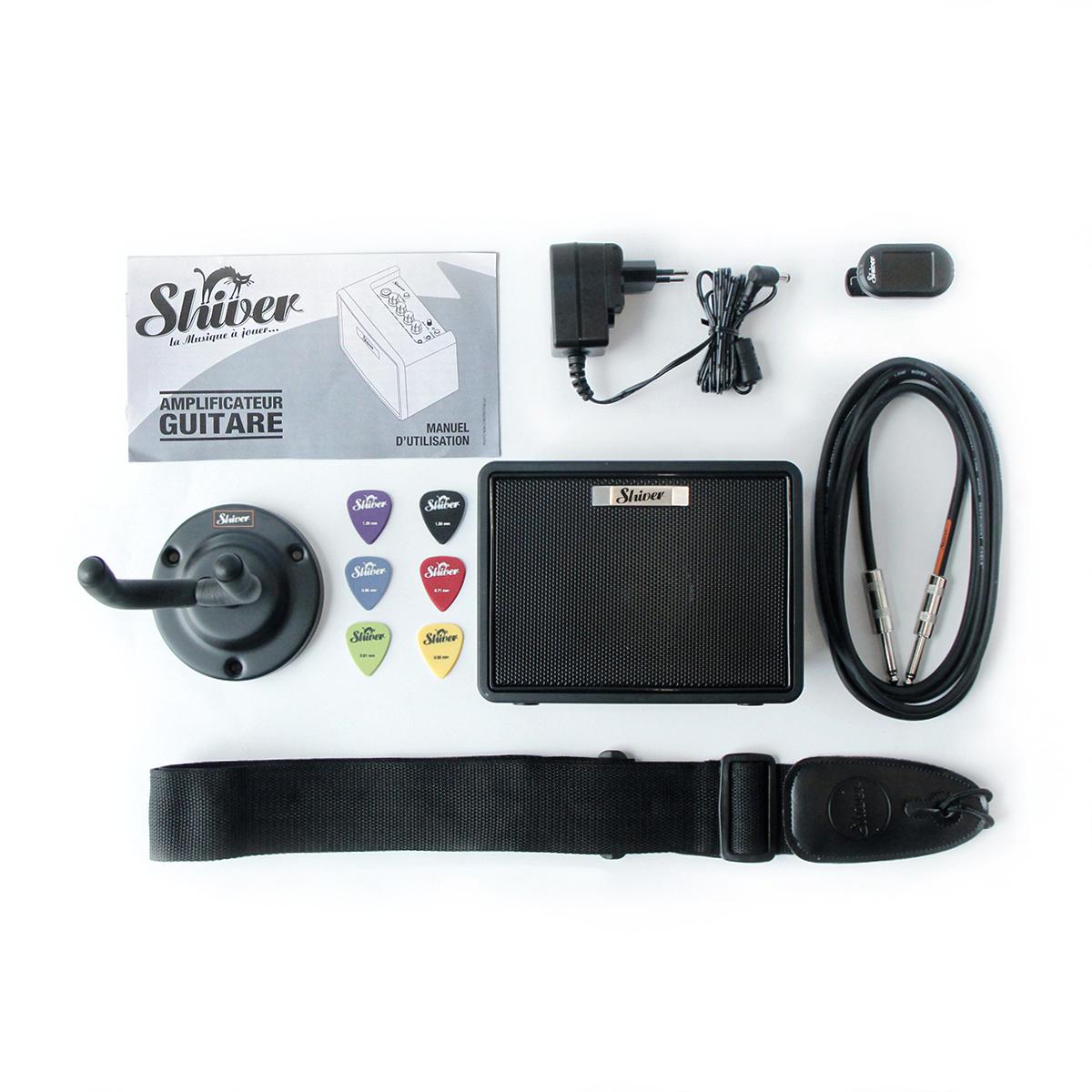 Pack Ampli pour guitare électrique AES-03W - Shiver