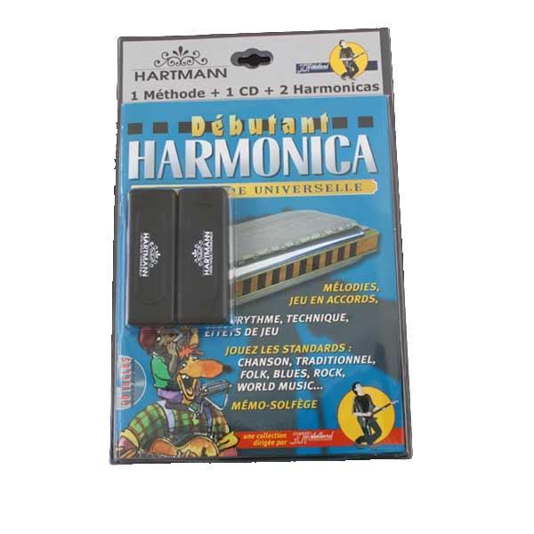 Hartmann - Pack Méthode + 2 Harmonicas