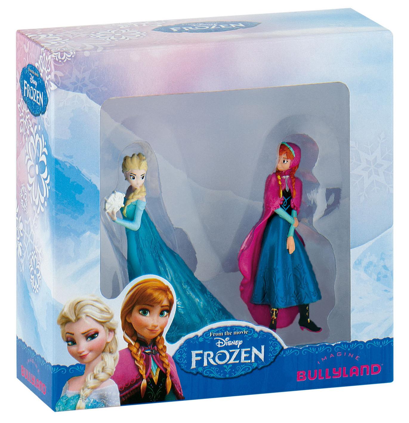 Coffret La Reine Des Neiges Disney - 2 figurines Anna et Elsa