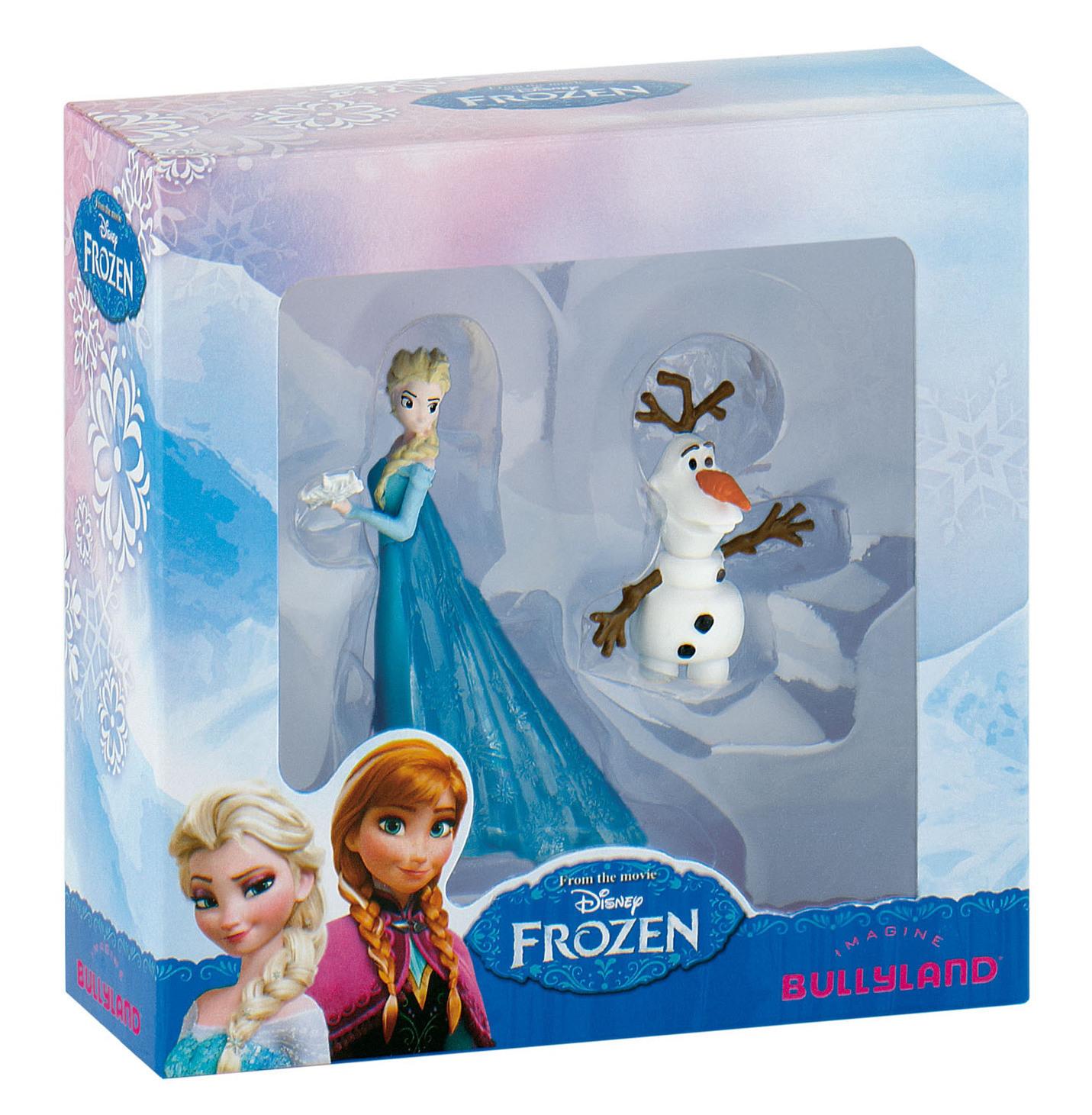 Coffret La Reine Des Neiges Disney - 2 figurines Elsa et Olaf