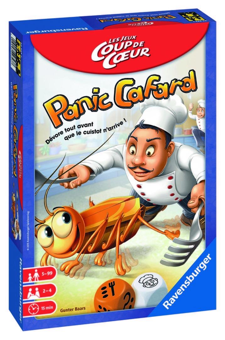 Panic Cafard - Les Jeux Coup de Coeur - Ravensburger