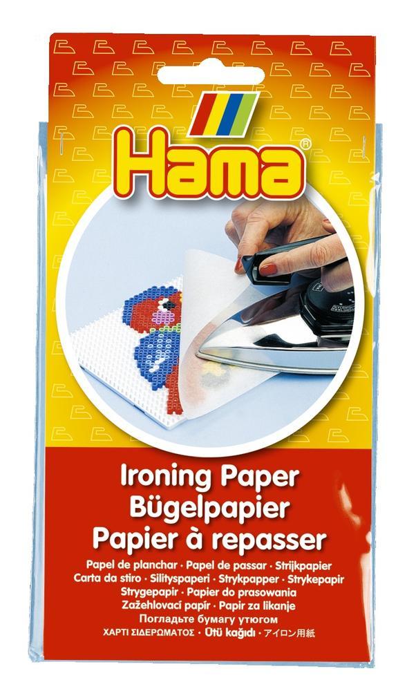 Papier à repasser pour perles Hama - 224