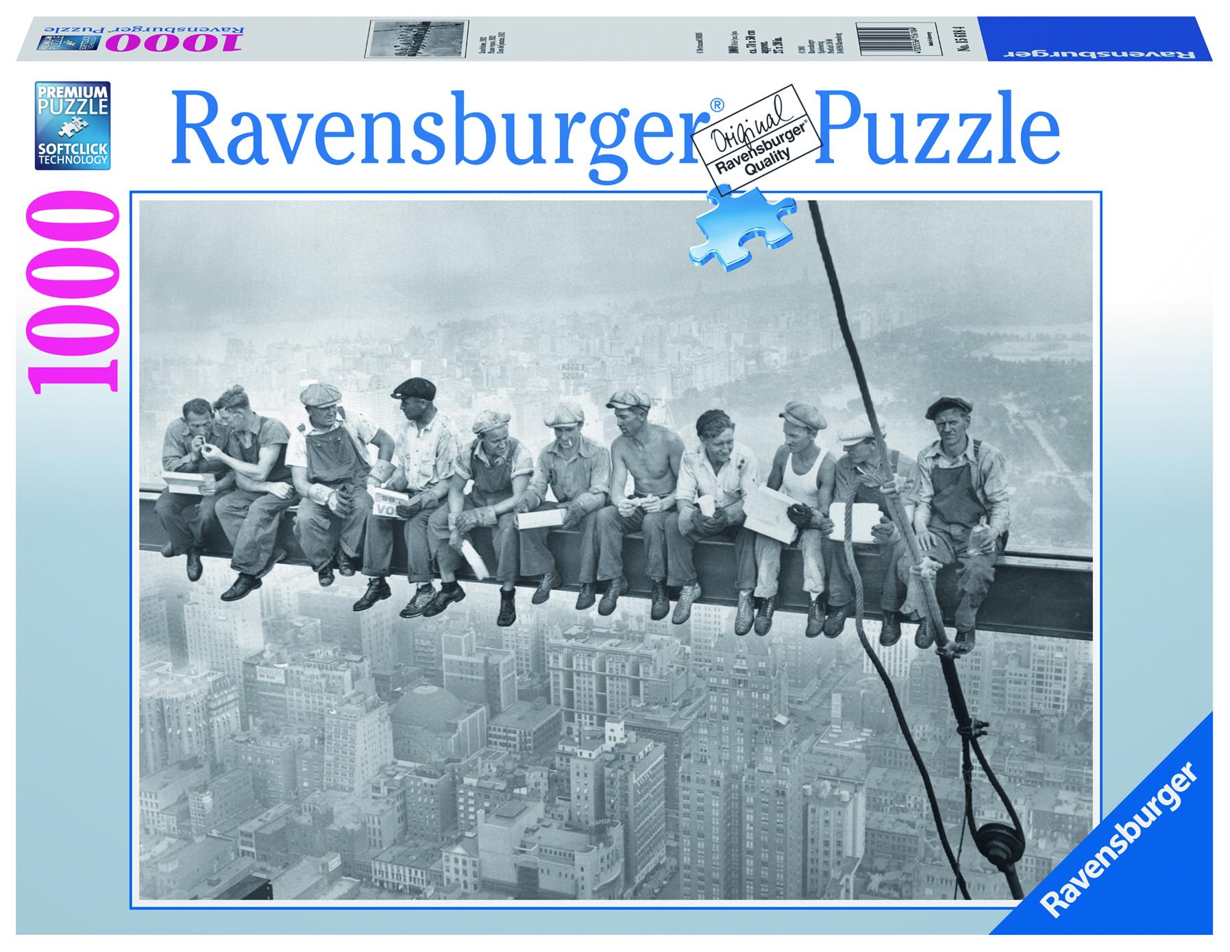 Puzzle Pause Repas 1933 - 1000 Pièces