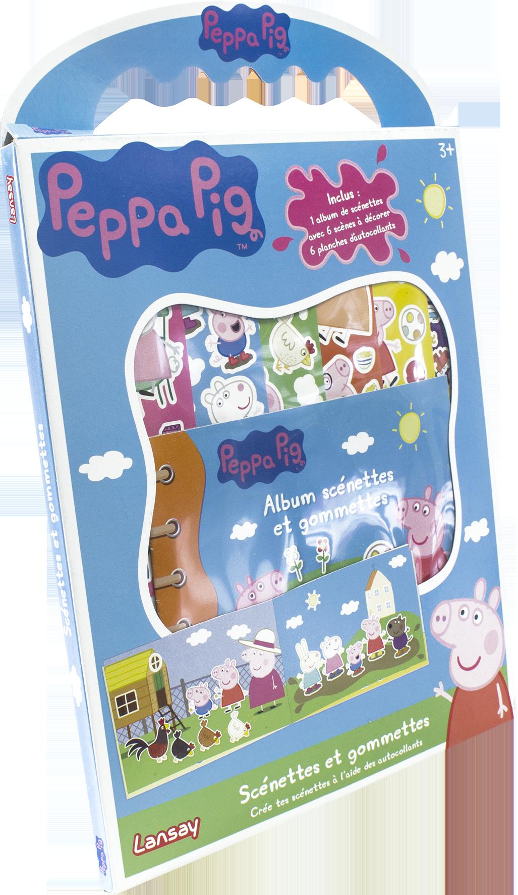 Scénettes et gommettes - Peppa Pig
