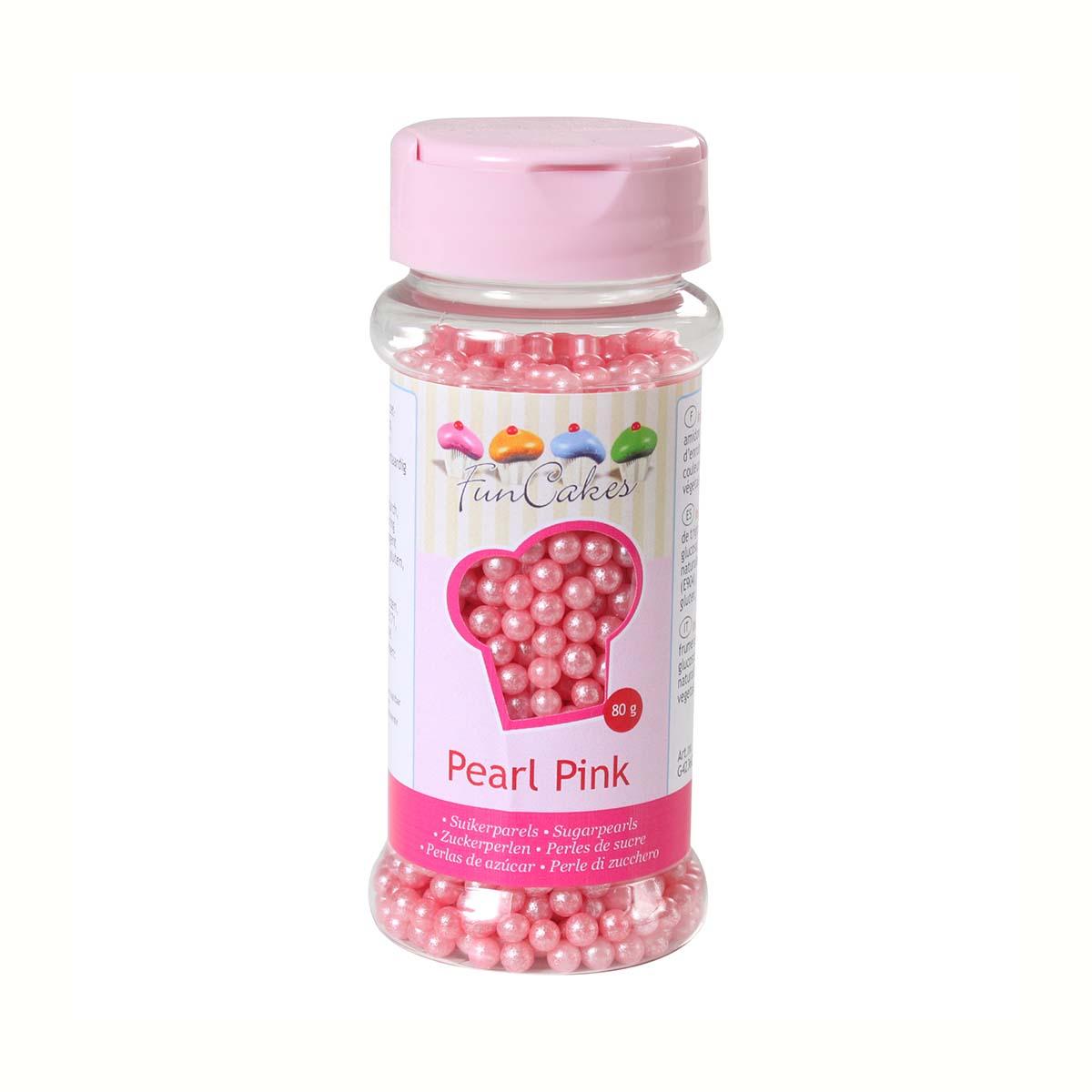 Image du produit Perles de sucre - rose nacr