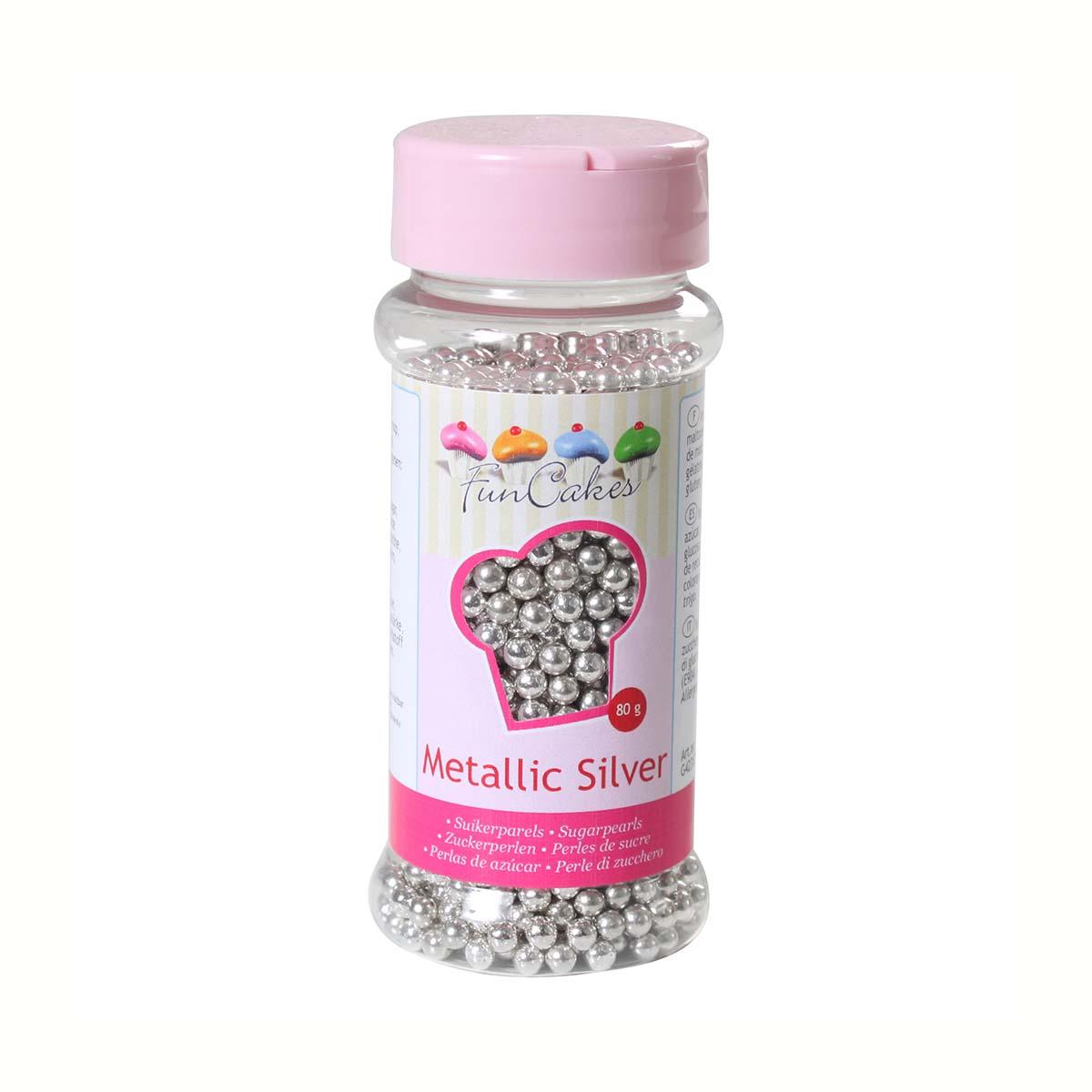 Image du produit Perles de sucre - argent