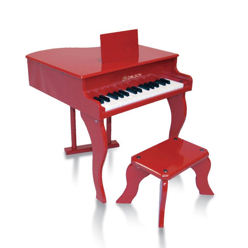 Delson   Piano à Queue Pour Enfant 3005R Rouge
