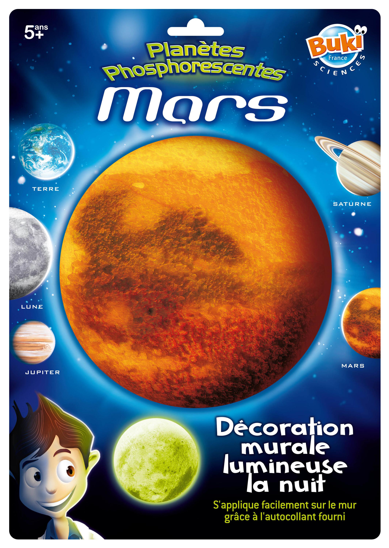 Planète phosphorescente Mars - Buki
