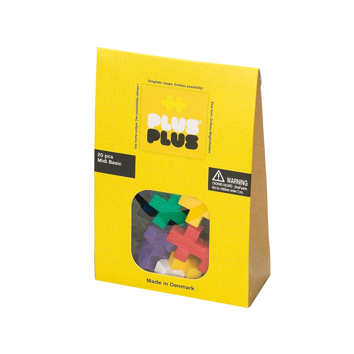 Plus Plus Pack midi basic - 20 pièces