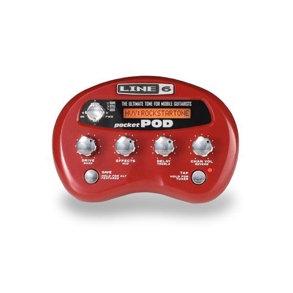 Line 6  - Préampli portable pour guitare - Pocket Pod