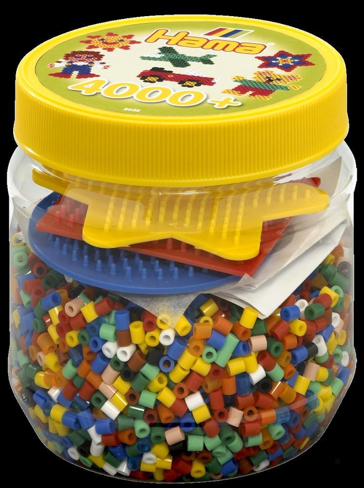 Pot de 4000 perles mix Hama - 2052
