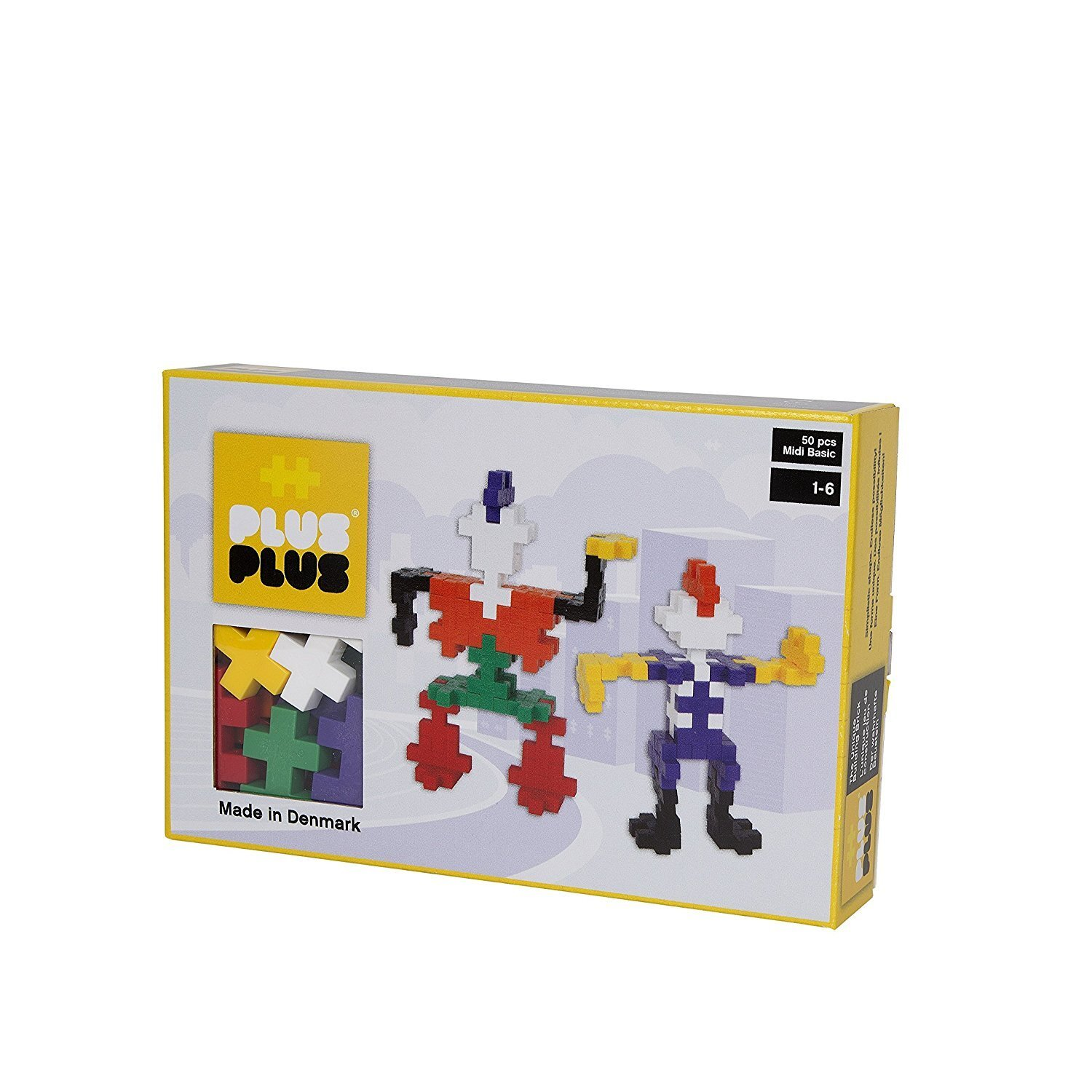 Plus Plus box midi basic 50 pcs