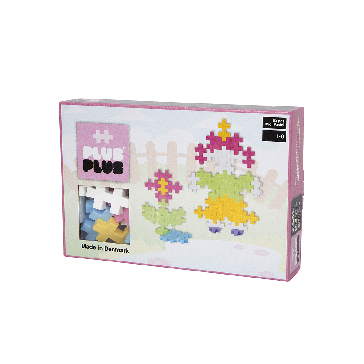 Plus Plus box midi pastel 150 pcs