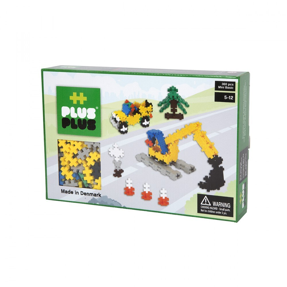 Plus Plus Box mini basic - 360 pièces - chantier