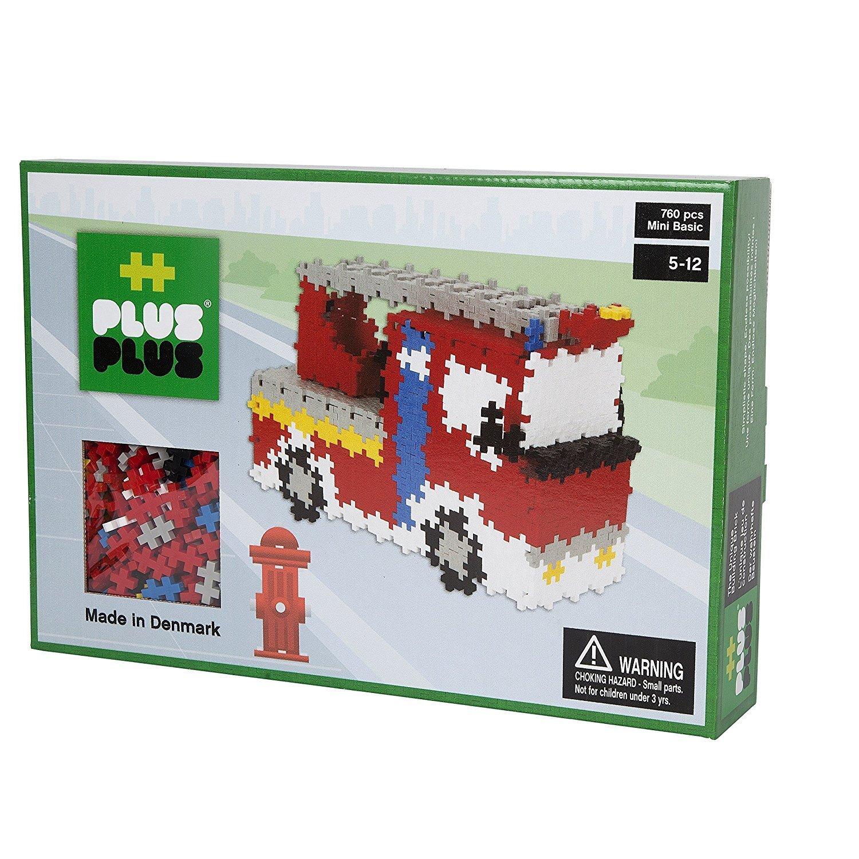 Plus Plus Box mini basic - 760 pièces - pompiers