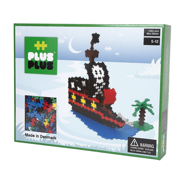 Plus Plus Box mini basic - 1060 pièces - bateau pirate