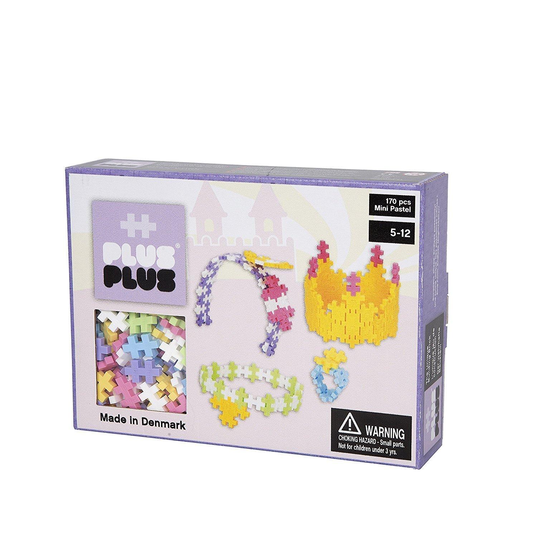 Plus Plus Box mini pastel - 170 pièces - parure