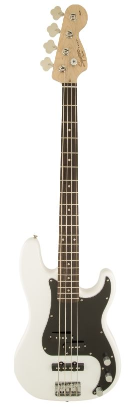 Squier - Basse Affinity Precision Olympic White