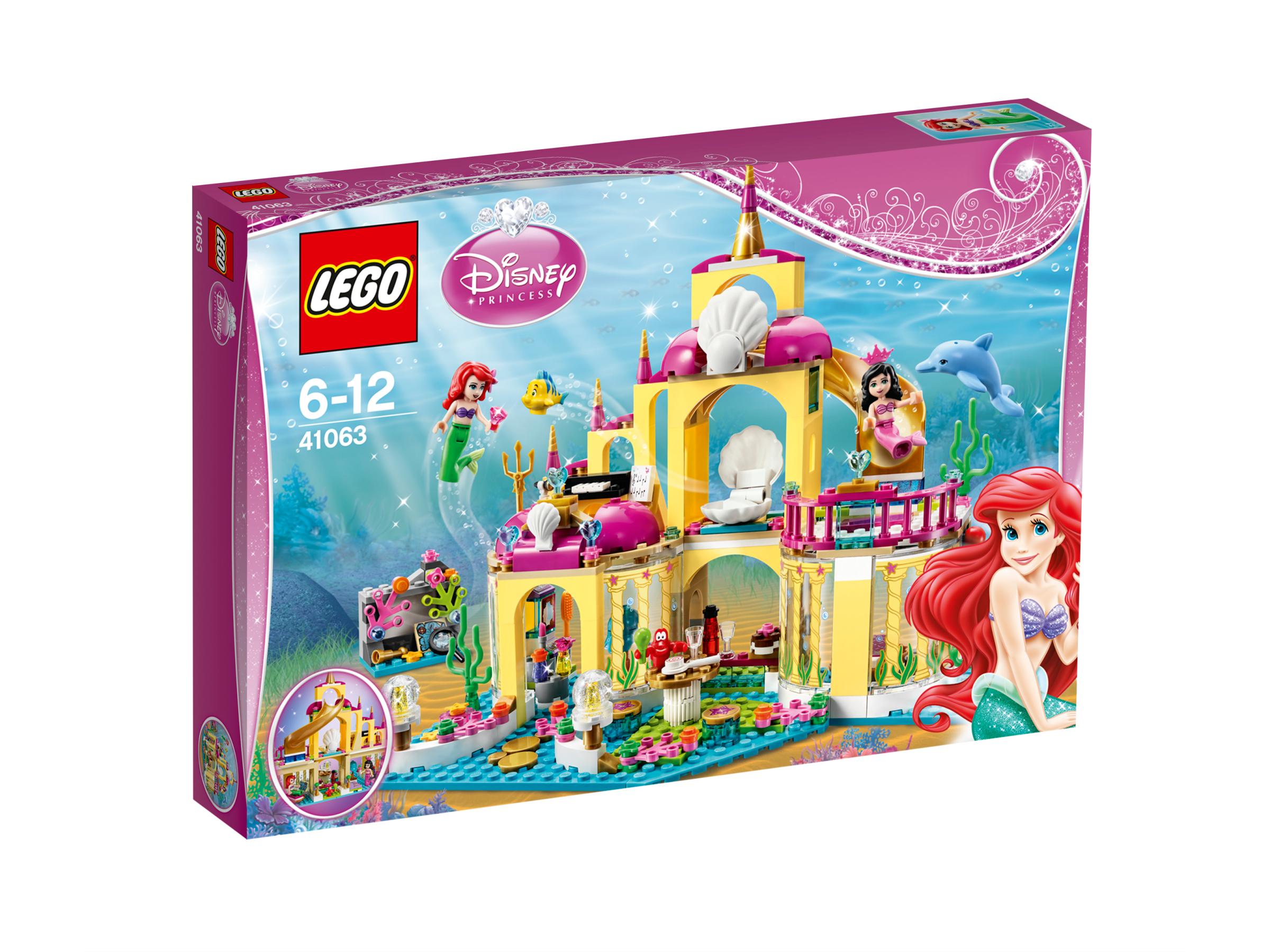 Le royaume sous-marin d'Ariel - LEGO® Disney Princess - 41063