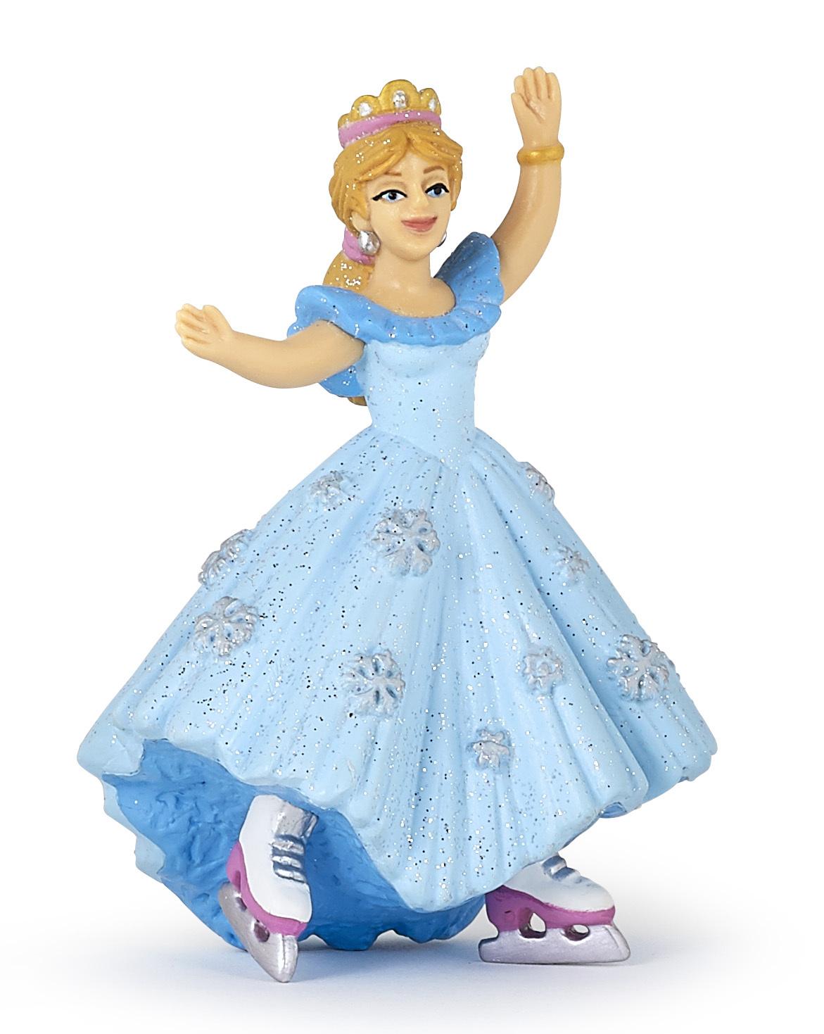 Figurine princesse patins à glace