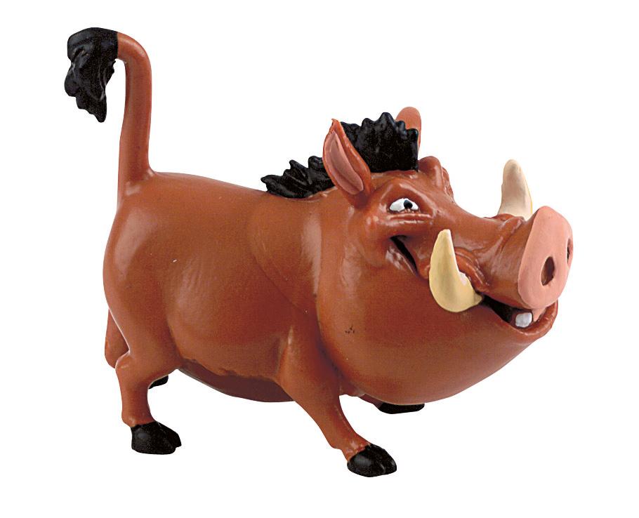 Figurine Le Roi Lion Disney - Pumbaa - 8 cm