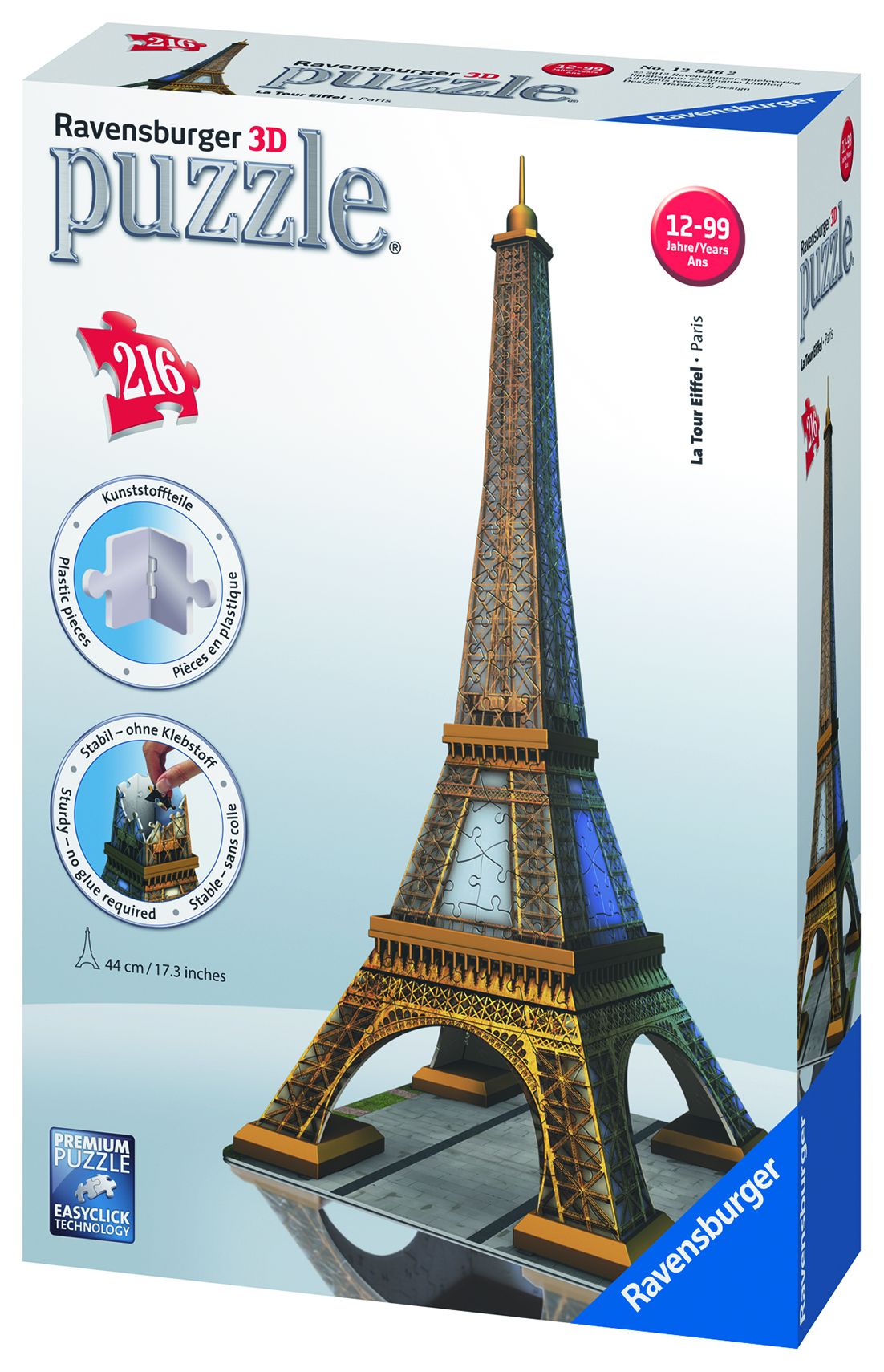La Tour Eiffel - Puzzle 3D