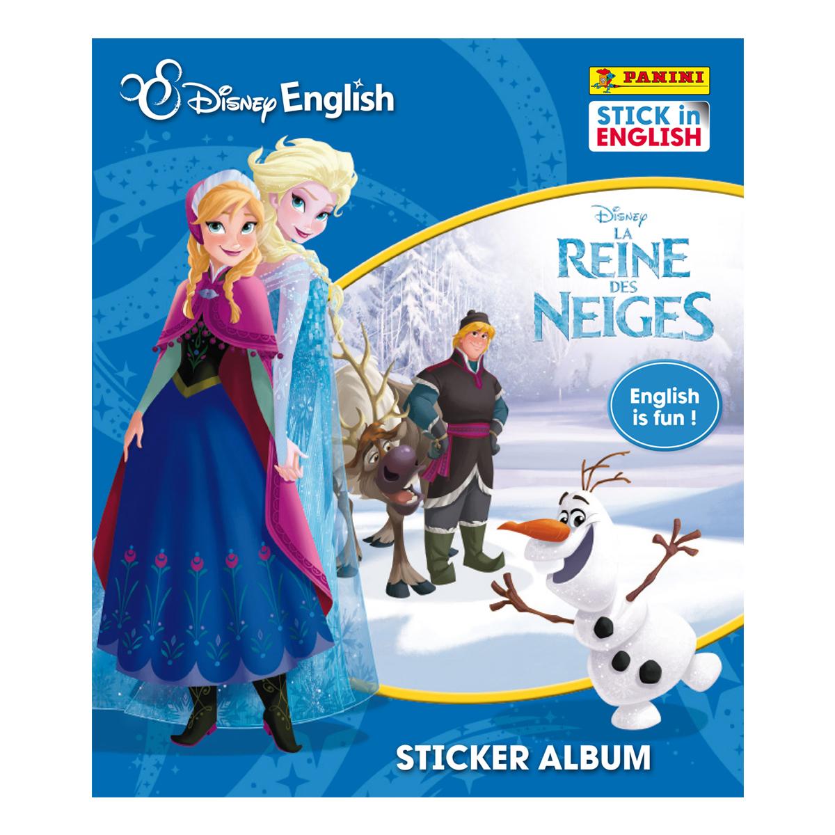 Album stickers - La Reine des Neiges - Anglais