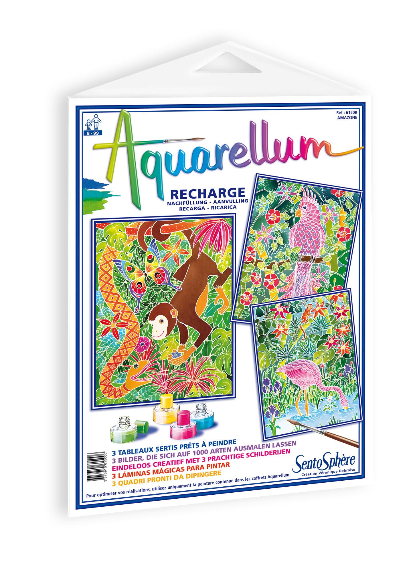 Recharge Aquarellum grand modèle - Amazonie