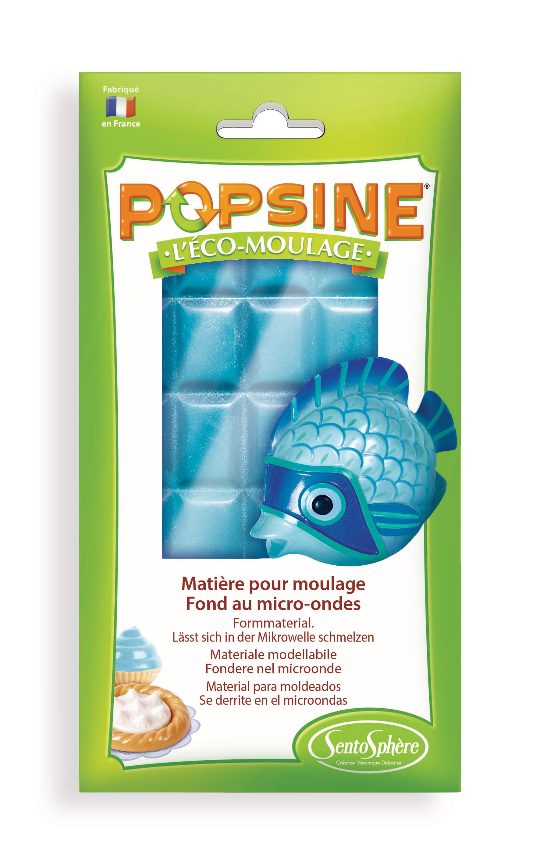 Recharge Popsine Turquoise - 110g