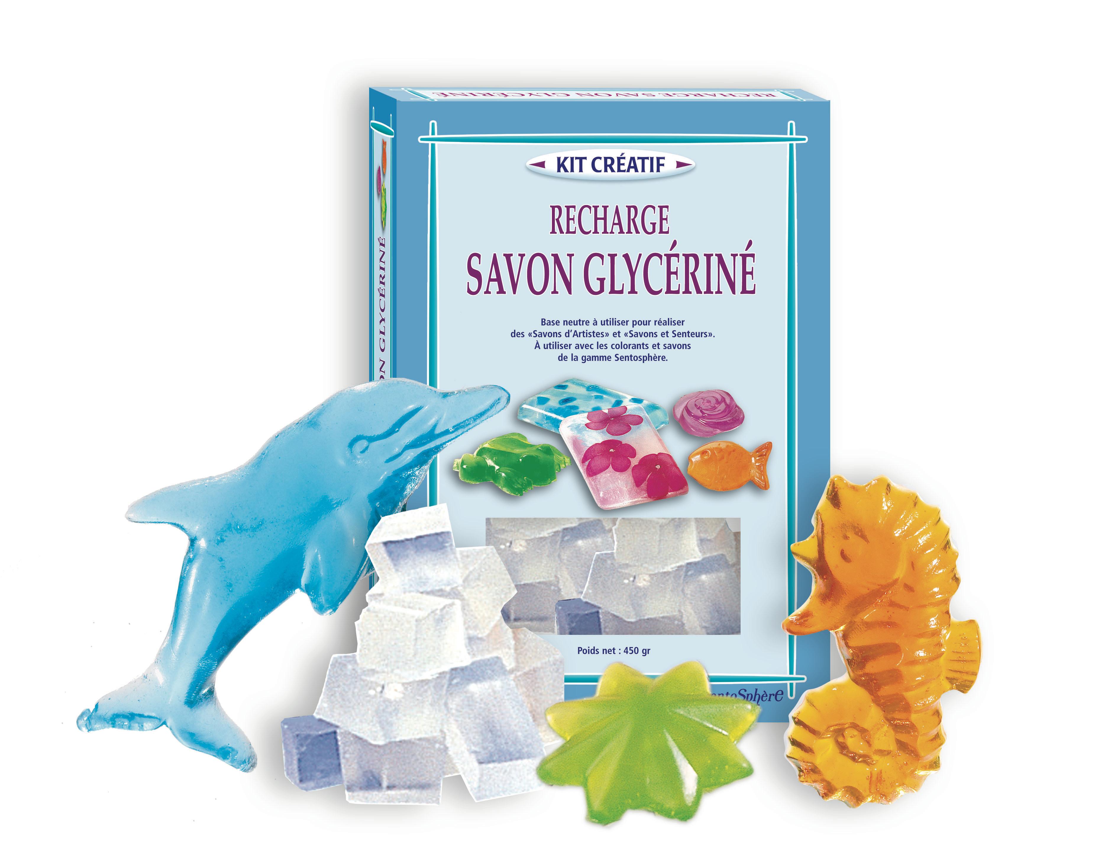 Recharge savon glycériné savons et senteurs 500g