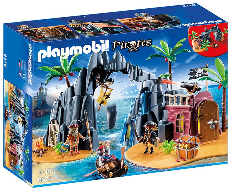 Repaire pirates de ténèbres - Playmobil - 6679