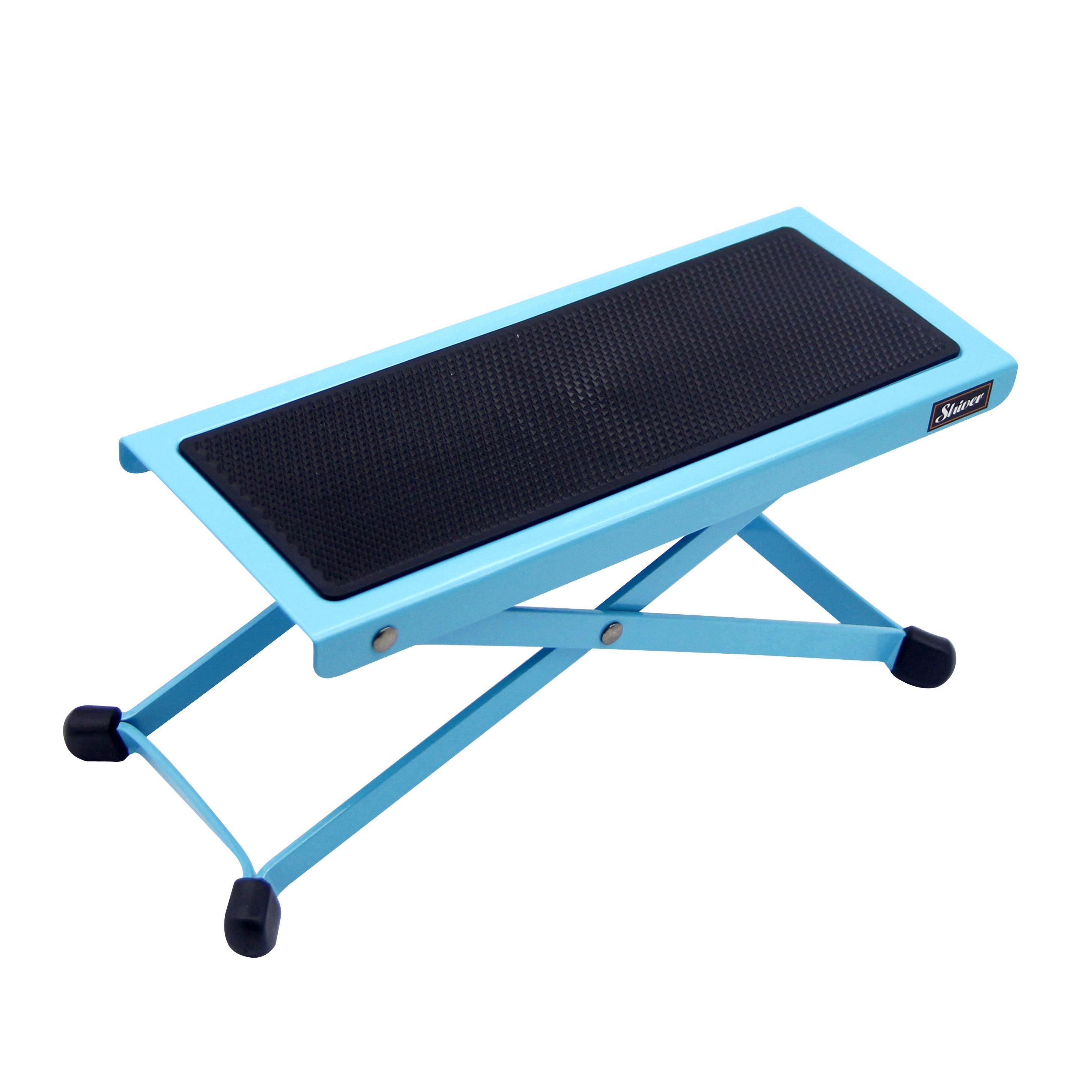 Shiver - Repose pied en métal  - Bleu