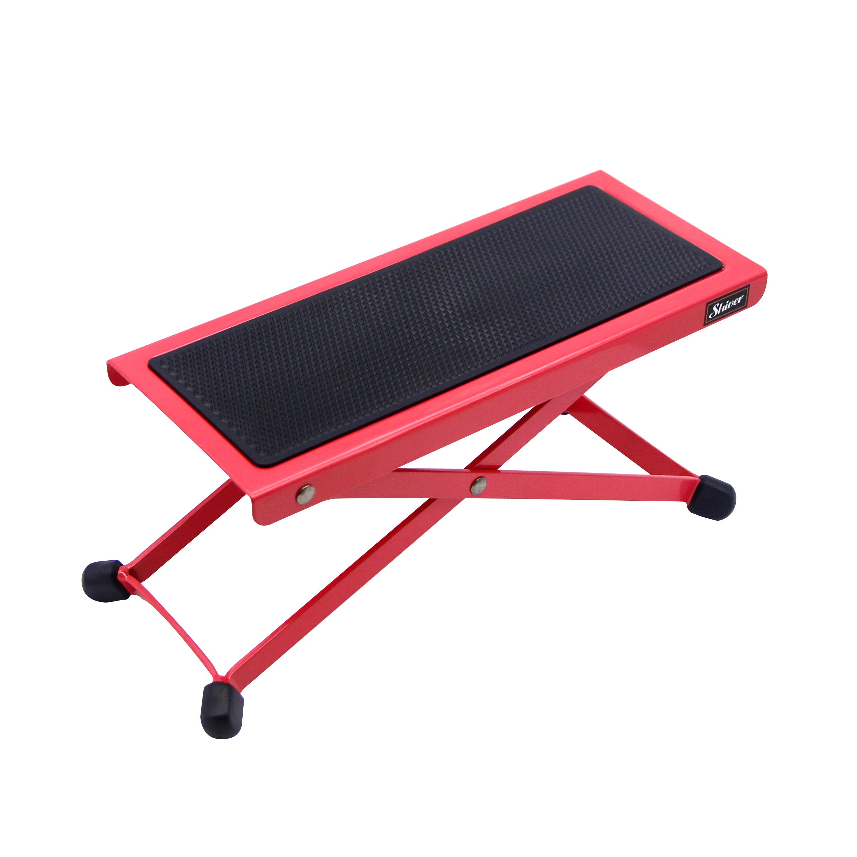 Shiver - Repose pied en métal  - Rouge