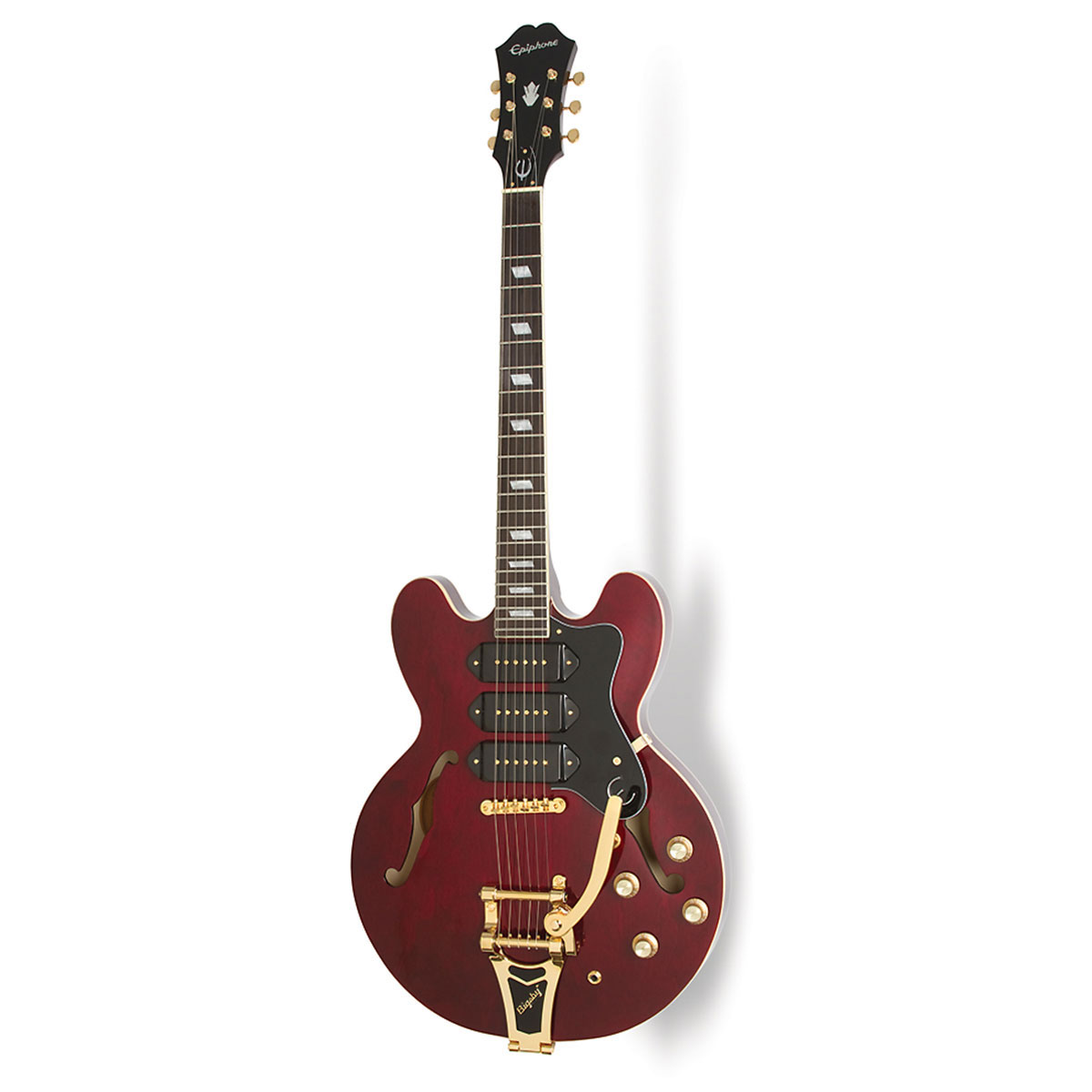 Epiphone - Riviera Custom P-93 Wine red