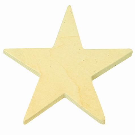 Sachet 11 Étoiles Bois