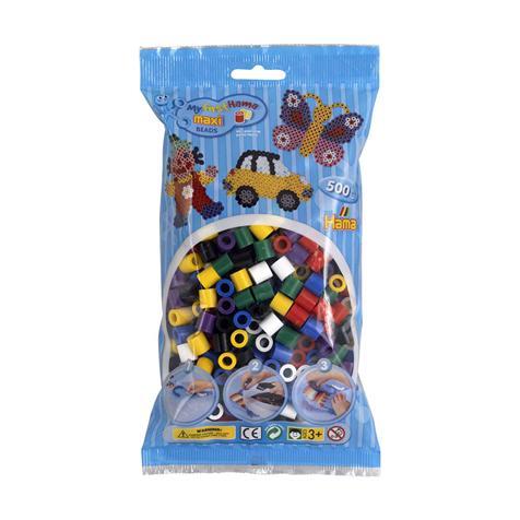 Sachet 500 perles Hama - maxi multicolores - 8470