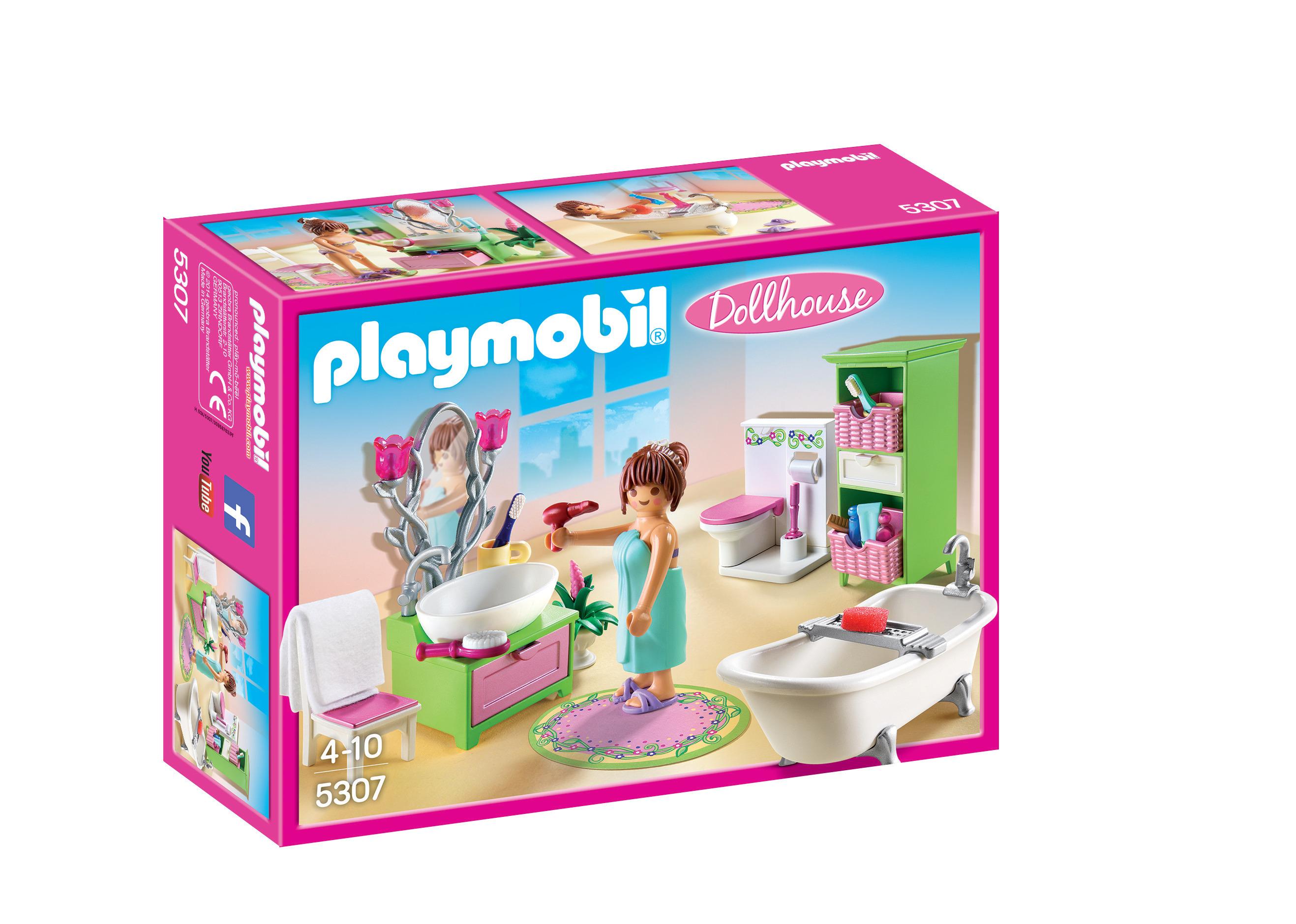 Salle de bain baignoire - Playmobil