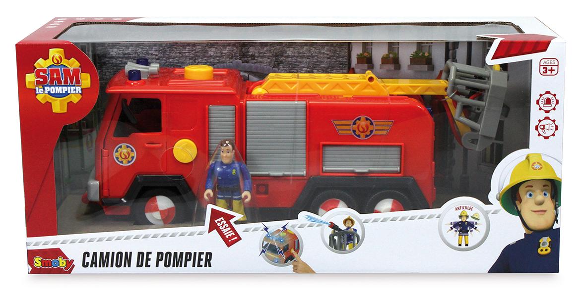 Sam le Pompier - Camion Pompier