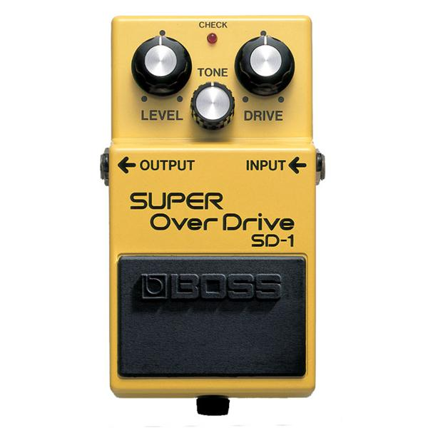 Boss - Pédale SD-1 Super Overdrive