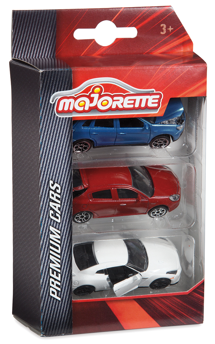 Set 3 véhicules - Premium - Majorette