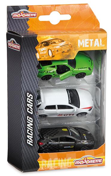 Set de 3 véhicules - Premium Racing - Majorette