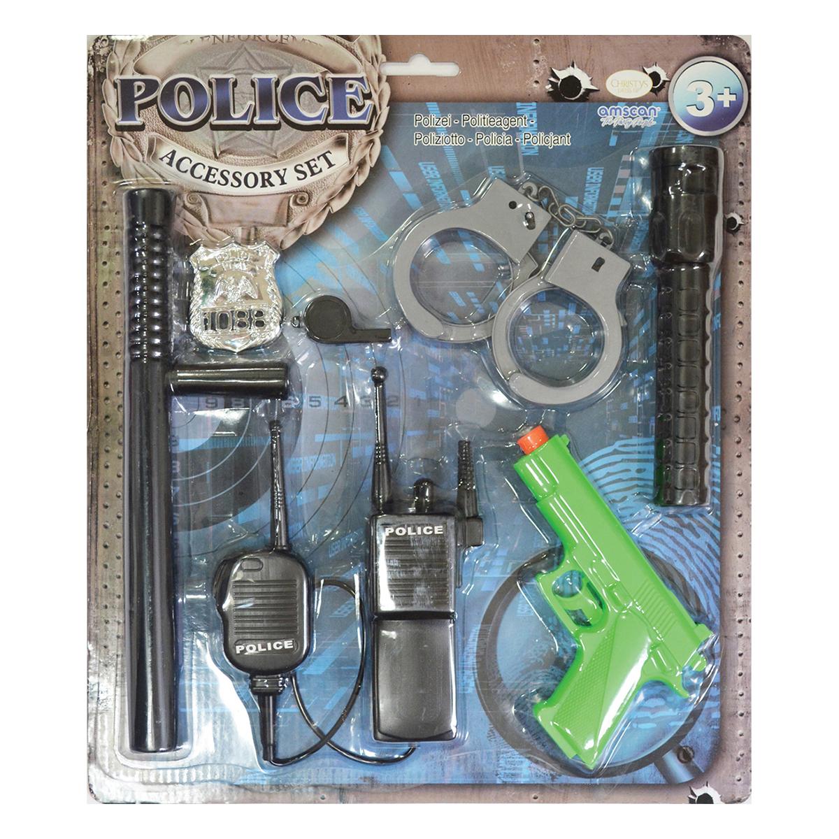 Accessoires déguisement police