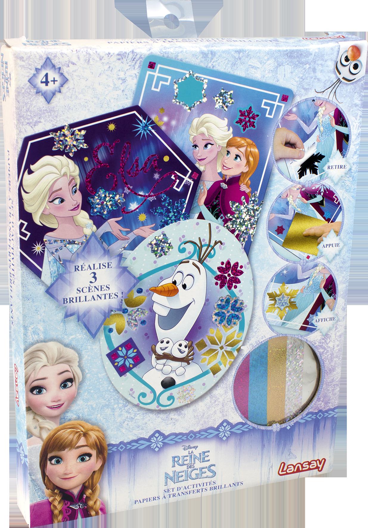 Set d'activités - La reine des neiges