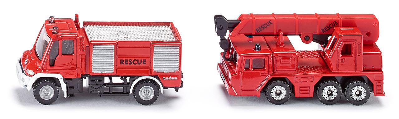 Set sapeurs pompiers (2 véhicules)