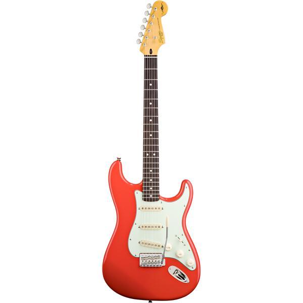 Squier - Guitare Electrique Stratocaster Signature Simon Neil Fiesta Red
